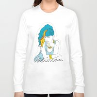 grimes Long Sleeve T-shirts featuring GRIMES OBLIVION by nufertity