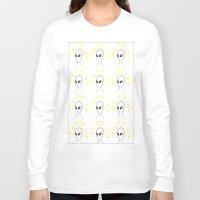 aliens Long Sleeve T-shirts featuring Aliens by Ruojing Wang