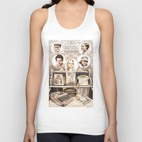 the royal tenenbaums Tank Tops featuring The Royal Tenenbaums by Aaron Bir by Aaron Bir