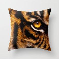 HIS ROYAL STRIPEYNESS Throw Pillow