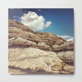 Striations Metal Print