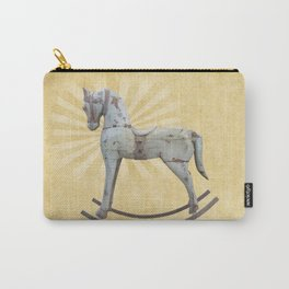Vintage rocking horse Carry-All Pouch