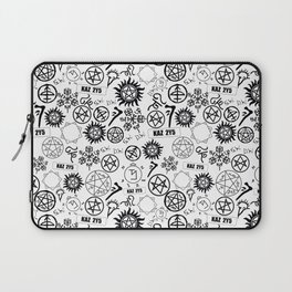 Supernatural Symbols Laptop Sleeve