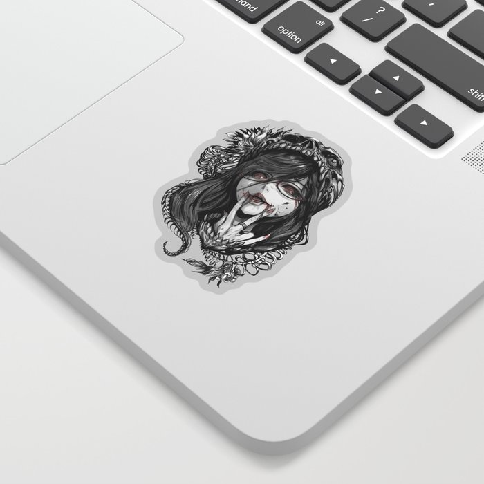 ghoul fanart w Sticker
