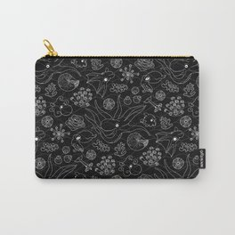 Cephalopods - Black and White Carry-All Pouch