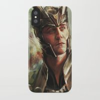 prince iPhone & iPod Cases featuring The Prince of Asgard by Alice X. Zhang