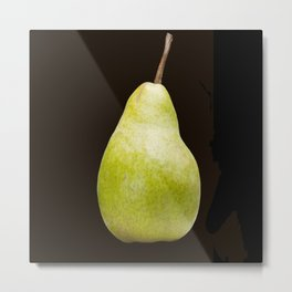 The Perfect Pear Metal Print