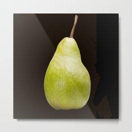 The Perfect Pear Metal Print
