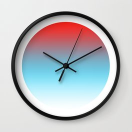 Popsicle Round Wall Clock