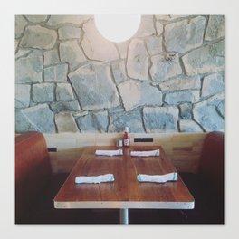 King Highway Diner, Palm Springs Canvas Print