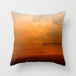 Soul in the wind Throw Pillow