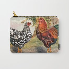 Colorful Chickens   Bunte Hühner Carry-All Pouch