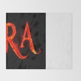 Ira ( anger ) Throw Blanket