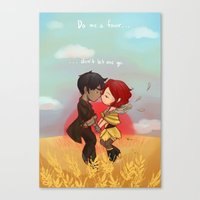 transistor Canvas Prints featuring Transistor by gohe1090