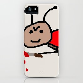 killer ladybird iPhone Case