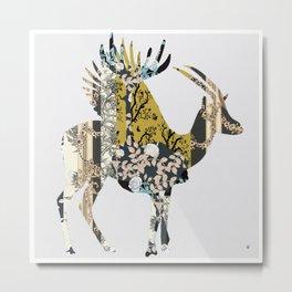 FabCreature · GoBi 3 Metal Print