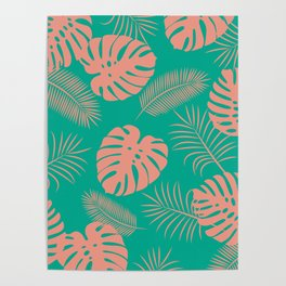 TROPICAL LEAVES 8 Poster
