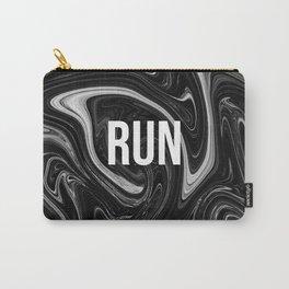 abstract liquid XXII - 22 - RUN Carry-All Pouch