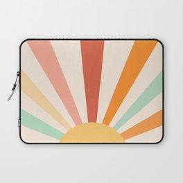 Boho Sun Colorful Laptop Sleeve