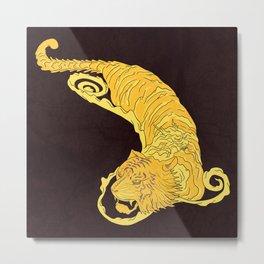 Crouching Tiger Hidden Dragon Metal Print