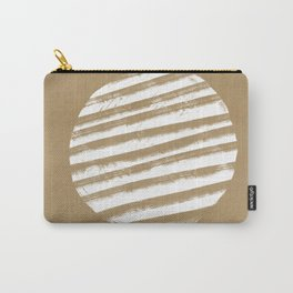 Lines that meet figures - minimal boho Carry-All Pouch
