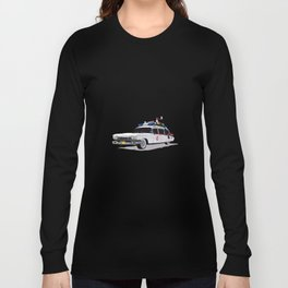 Ghostbusters Illustrated Ecto 1 Long Sleeve T-shirt