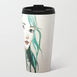 A mermaid Travel Mug