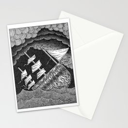 Peril At Sea Stationery Cards