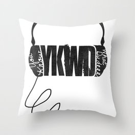 YKWD Podcast w/ Robert Kelly  Throw Pillow