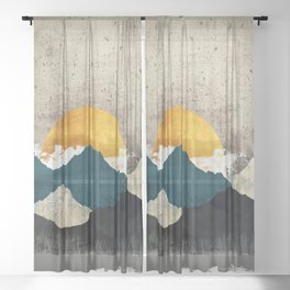 Thaw Sheer Curtain
