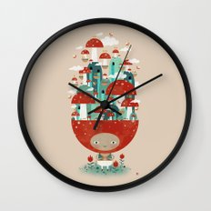 TOADSTOOL TAO Wall Clock