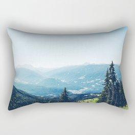 Summer Alps Rectangular Pillow