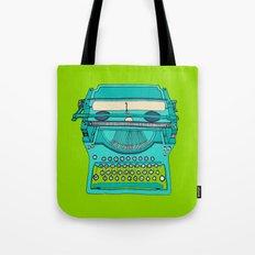 Typewriter number four Tote Bag