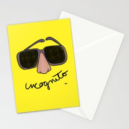 Society6 / Incognito Stationery Cards
