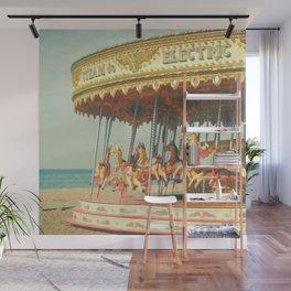 Seaside Carousel Wall Mural