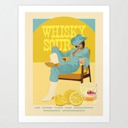 Whisky Sour Art Print