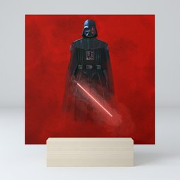 """""""The Power of the Dark Side - Darth Vader"""" by Jaclyn Caris Mini Art Print"""