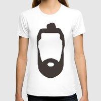 beard T-shirts featuring Beard by jorgeink