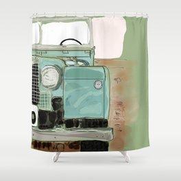 Landy Ho! Shower Curtain