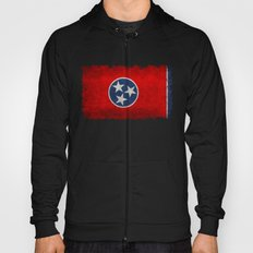 Tennessee State flag, Vintage version Hoody