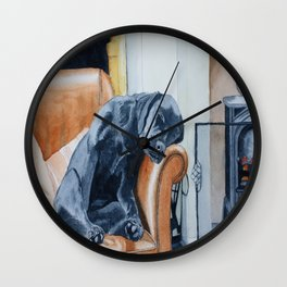 After the Walk Wall Clock