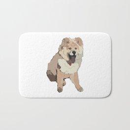 Fluffy Dog Bath Mat