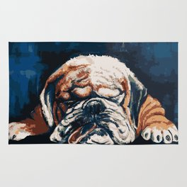 Bull Dog Rug