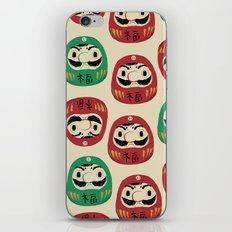 super daruma bros iPhone & iPod Skin