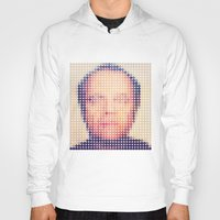jack nicholson Hoodies featuring Jack of dots by lev man