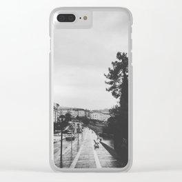 Camino frío Clear iPhone Case