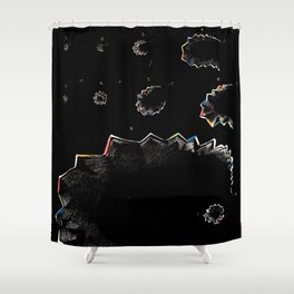 Airy Scotoma Shower Curtain