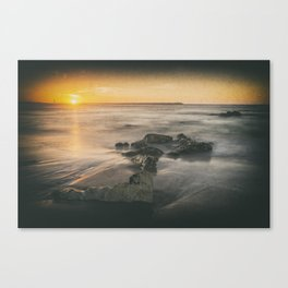 Cabedelo beach in the city of Viana do Castelo, Portugal Canvas Print