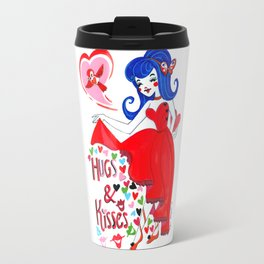 Hugs and Kisses Travel Mug