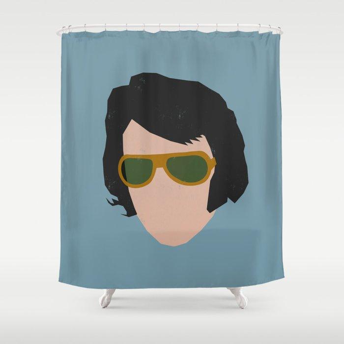 Rock Legends - Elvis Presley Shower Curtain